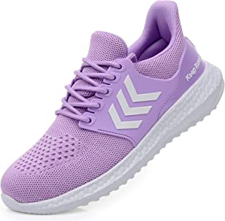 Women's Memory Foam Running Shoes Slip On Tennis Sneakers Lightweight Gym Jogging Sports Athletic Walking Shoes