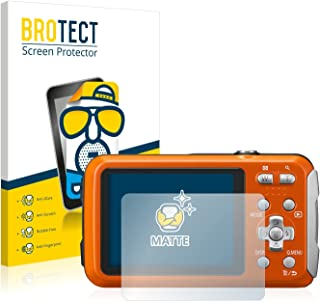 BROTECT Protector Pantalla Anti-Reflejos Compatible con Panasonic Lumix DMC-FT30 (2 Unidades) Pelicula Mate Anti-Huellas