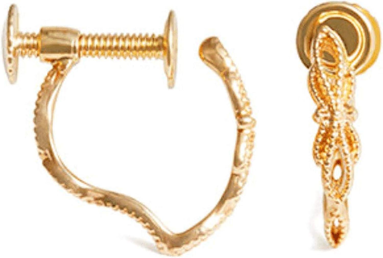 spine- Non pierced earrings- dainty delicate exquisite- Clip on Dangle Earrings for Girls, Women, Unpierced Earrings for friends, sister, elegant daily wearing