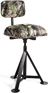 GYMAX Swivel Hunting Chair, Folding 360° Rotatable Camo...