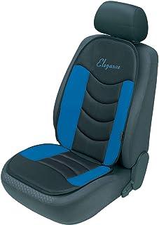Walser 14177 Autositzauflage Gerini blau, Universelle Sitzauflage und Schutzunterlage, Sitzschoner für Pkw und LKW