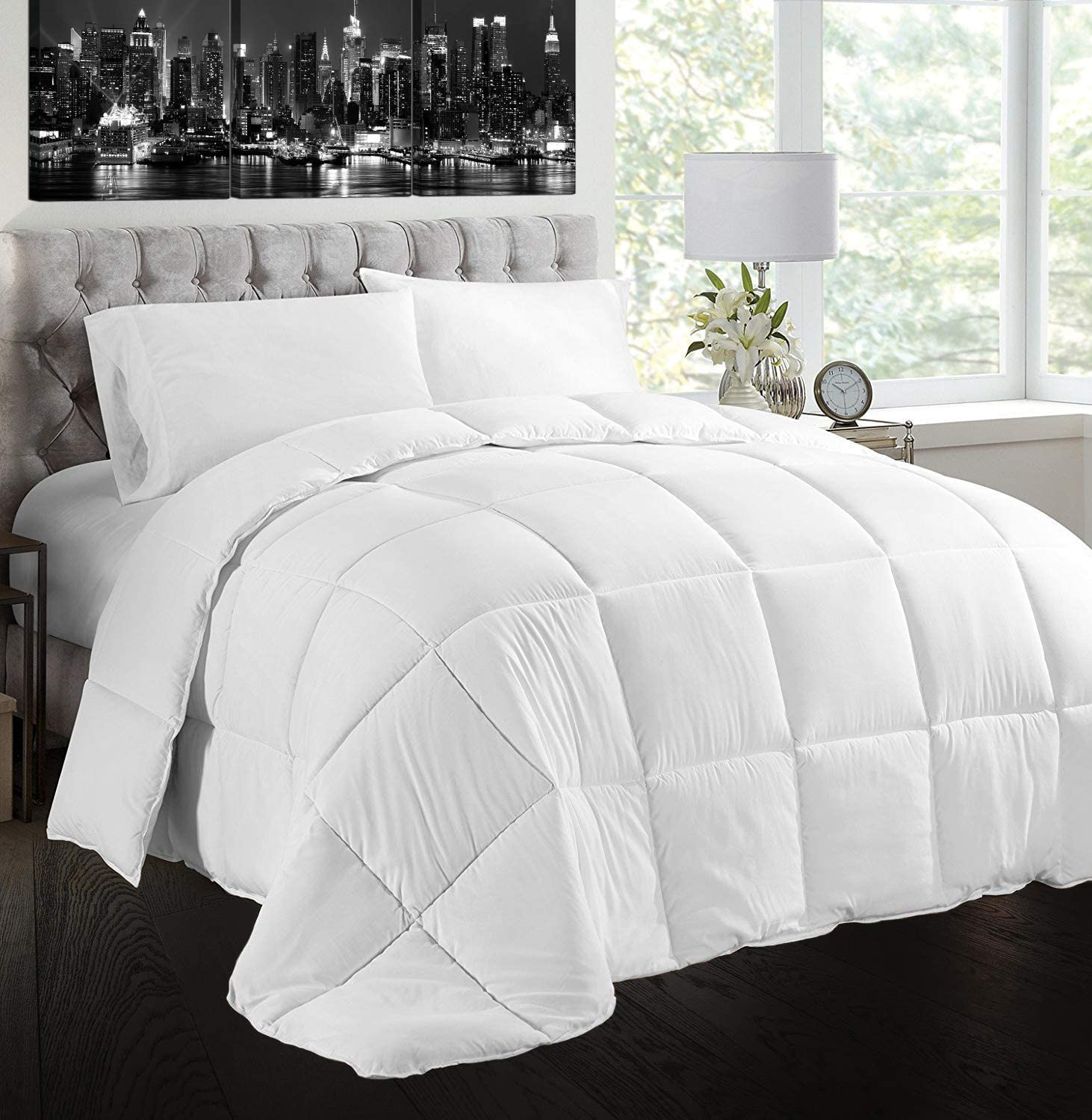 Creative Living Quantity limited Solutions Classic White OFFicial shop Comfo Goose Feather Down