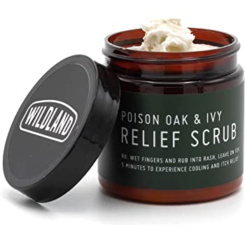 Wildland Poison Oak and Poison Ivy Itch Relief Treatment Scrub   Provides Immediate Itch Relief - Extremely Effective   Helps You Sleep When You Have The Rash   Natural Ingredients (4 oz)