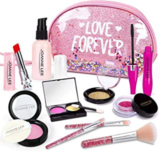 HINZER Kids Makeup Kit for Girls Toddlers Pretend Makeup Set for Kids Pretend Play Makeup Cosmetic Toy Birthday Gift for G...
