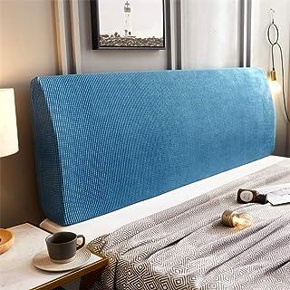 ZXDFG Funda para cabecero de cama, funda para cabecero de cama de matrimonio, elástica, lectura integral, antipolvo, decoración de dormitorio, lavable
