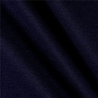 navy knit fabric