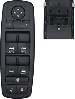 MOCW 68231805AA Power Window Master Control Switch Left Driver Side Fit for 2011-2012 Chrysler 300 C S, for 2011-2014 Dodg...