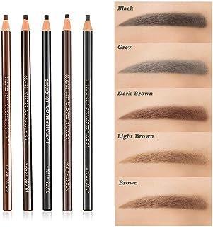 5pcs 5 Colors Peel-Off Eye Brow Pencil Set For Drawing Marking Eye Brow Pencil Pen Eyebrow Makeup Cosmetics Tool