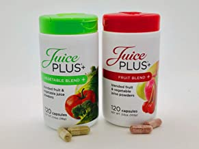 Juice Plus+ Orchard Blend & Garden Blend Capsules 3.2 oz. (1 Bottle Each/120 Capsules) …