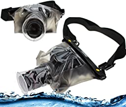 Navitech Black Waterproof Underwater Housing Case/Cover Pouch Dry Bag Compatible with The Nikon coolpix P510/ P100/ P500/ P90/ L810/ 8800, Black