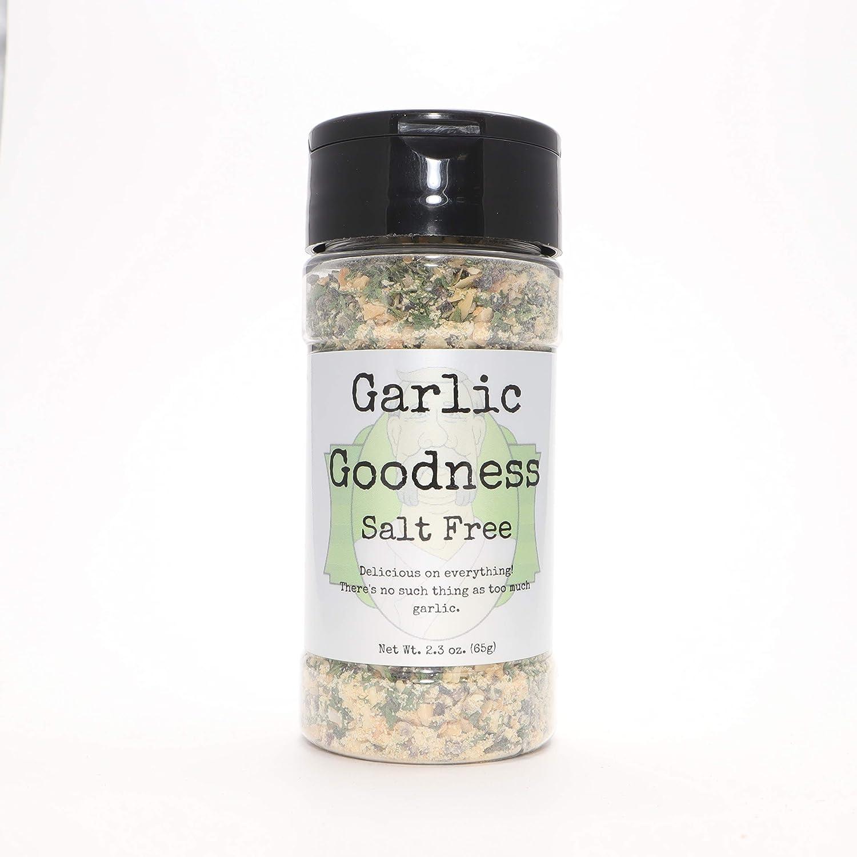 Garlic Goodness Salt Free Colonel Spices Small De Fresno Some reservation Mall Blen Batch