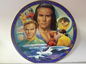 Star Trek Space Seed Plate.Star Trek the Original Episodes Plate Collections