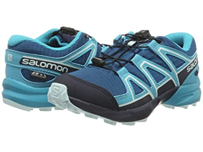 Salomon Kids Speedcross CSWP (Little Kid/Big Kid) (Lyons Blue/Bluebird/Navy Blazer) Kids Shoes