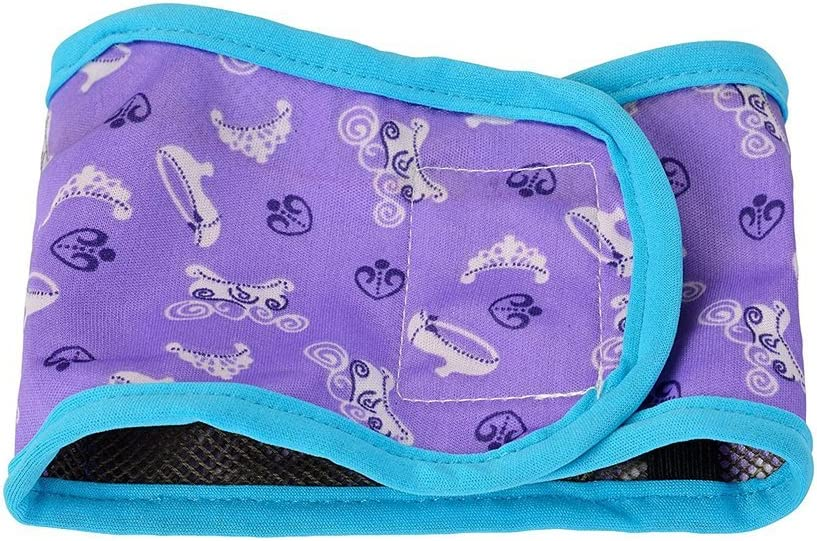 Pack of 4 Bwogue Dog Belly Band Boy Puppy Diapers with Washable Reusable for Small Male Pet Dog Diapers Pants