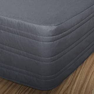 queen size quilted bed skirt