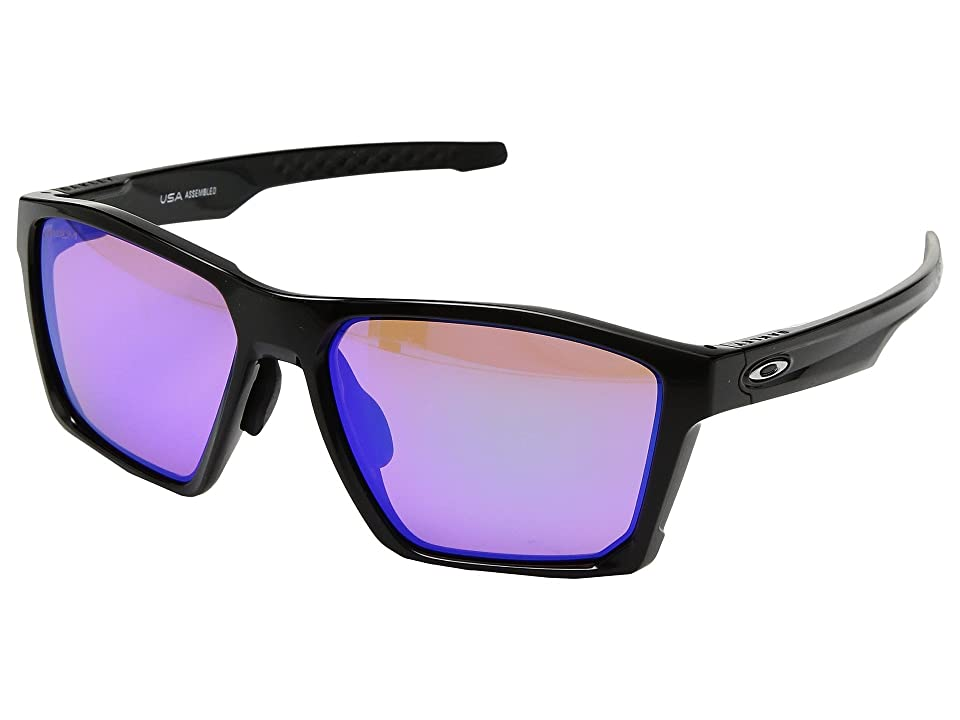 Oakley Targetline (A) (Polished Black w/ Prizm Golf) Athletic Performance Sport Sunglasses