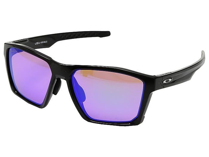 Oakley Targetline (A) (Polished Black w/ Prizm Golf) Athletic Performance Sport Sunglasses
