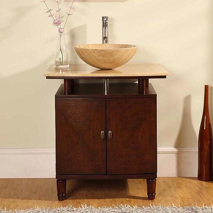 Amazon Com Silkroad Exclusive Hyp 0808 T 29 Srs 0029b Bathroom Vanity Tools Home Improvement