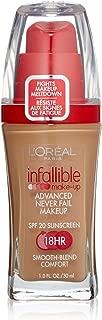 L'oreal Infallible Advanced Never Fail Makeup, Sun Beige, 1-Fluid Ounce