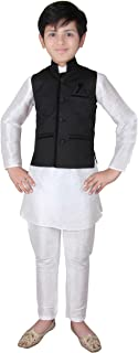 Boys Indian Modi Nehru Style short jacket Vest Waistcoat for Bollywood party 001
