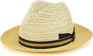 春夏 tesi ファッション 帽子 イタリア ペーパーハット メンズ テシ 帽子 ブランド ストローハット/ベージュ
