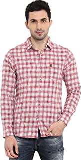 Mufti Men's Checkered Slim fit Casual Shirt