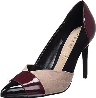 05e768999ba Amazon.es: zapatos burdeos mujer - Zapatos de tacón / Zapatos para ...