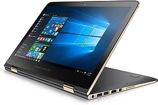 HP Spectre 13 x360 2-IN-1 Convertible Laptop: 13.3in QHD (2560x1440) Touchscreen, Intel Core i7-6500U, 256GB SSD, 8GB RAM, Backlit Keyboard, Windows 10 - Ash Silver (Renewed)