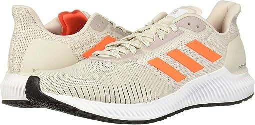 Raw White/Solar Orange/Footwear White