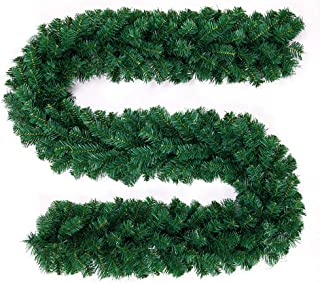Steve Barr Garland Green White Rattan Decorations for Home Kids Xmas Tree Ornaments Noel 2019 New Year Supplies - by - 1 PCs