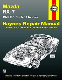 Mazda RX-7, GS, GSL & GSL-SE (79-85) Haynes Repair Manual