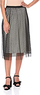 2Xtremz Net Mesh Triple Layer A Line Skirt for Women