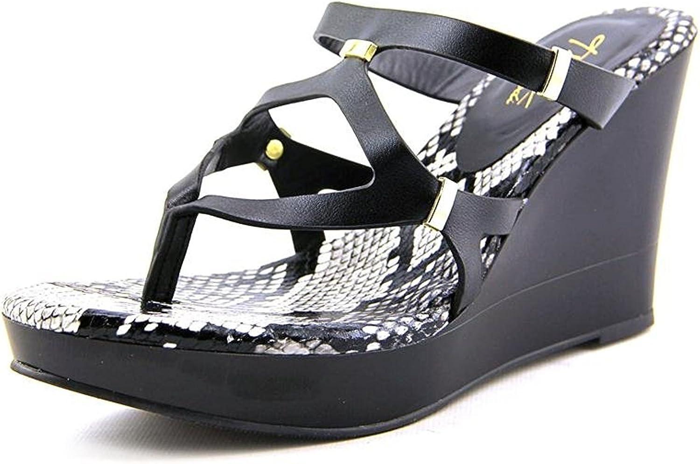 Thalia Sodi Women's Luz, Black Snake, Size 11.0