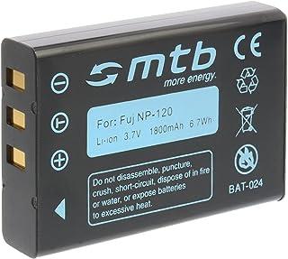 Ersatz Akku NP 120 für Fuji Fujifilm Finepix F10, F11, F630, M603. (Siehe Liste)