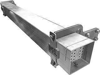 Mount-n-Lock SafetyStruts Ultralight Aluminum 4-Inch No-Weld RV Replacement Bumper Kit (Select Length) (UBKXX 95