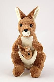 Kangaroo Soft Toy with Joey