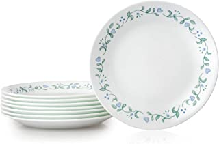 Corelle Bread Plates, 8-Piece, Country Cottage