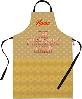 Bang Tidy Clothing Personalized Baking Aprons for Women Men - Cooking Chef Apron - The Star Baker