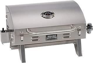 Smoke Hollow SH19030819 PT300B Propane Tabletop Grill, Stainless Steel (Renewed)