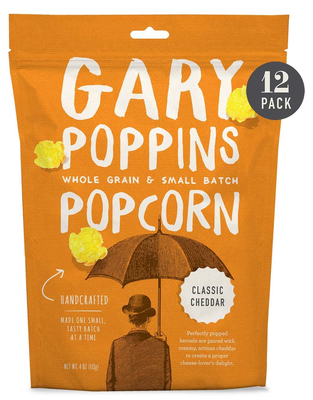 Gary List price Poppins Popcorn - Classic Flavored Virginia Beach Mall Pack 12 4oz Cheddar
