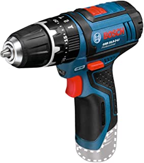 Bosch Professional 12V System GSB 12V-15 Cordless Combi Drill (Without Rechargeable Battery and Charger, in Cardboard Box)