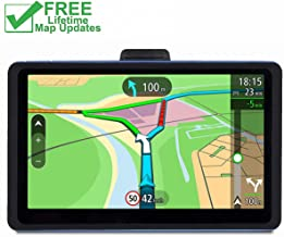 GPS for Car, 7 inches 8GB Lifetime Map Update Spoken Turn-to-Turn Navigation System for Cars, Vehicle GPS Navigator, SAT NAV
