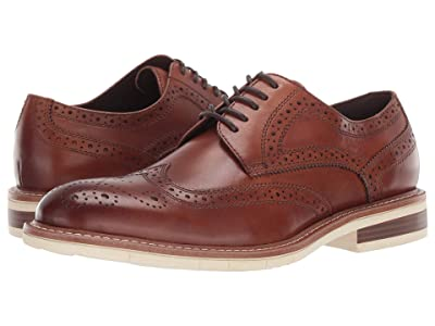 Kenneth Cole Reaction Klay Flex Lace-Up D (Cognac) Men
