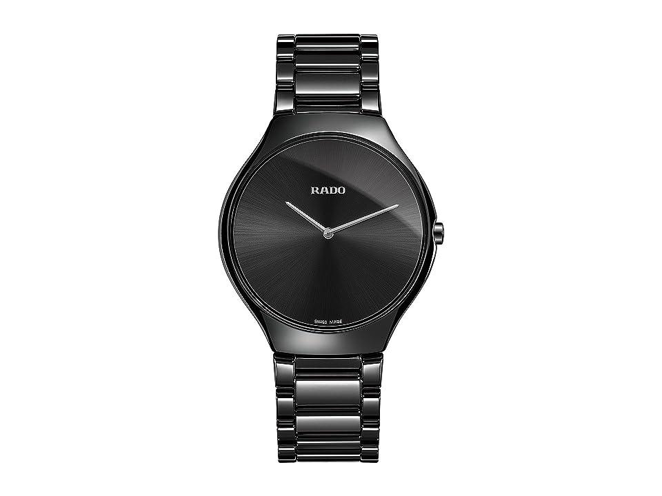 RADO True Thinline - R27741182 (Black Ceramic) Watches