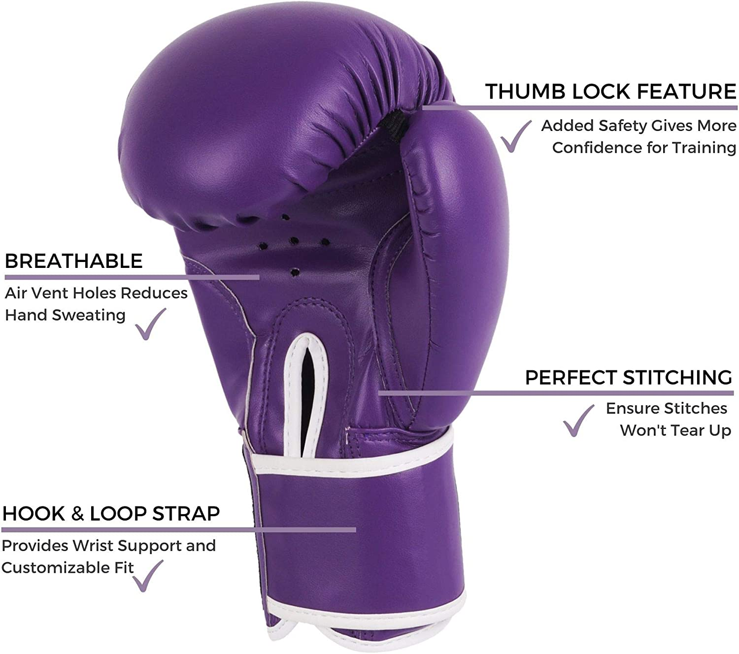 Fitness Kit with Punching Pads for Martial Arts and Karate Kruzak Plain Focus Mitts and Boxing Gloves Set for Kickboxing and Muay Thai MMA Training