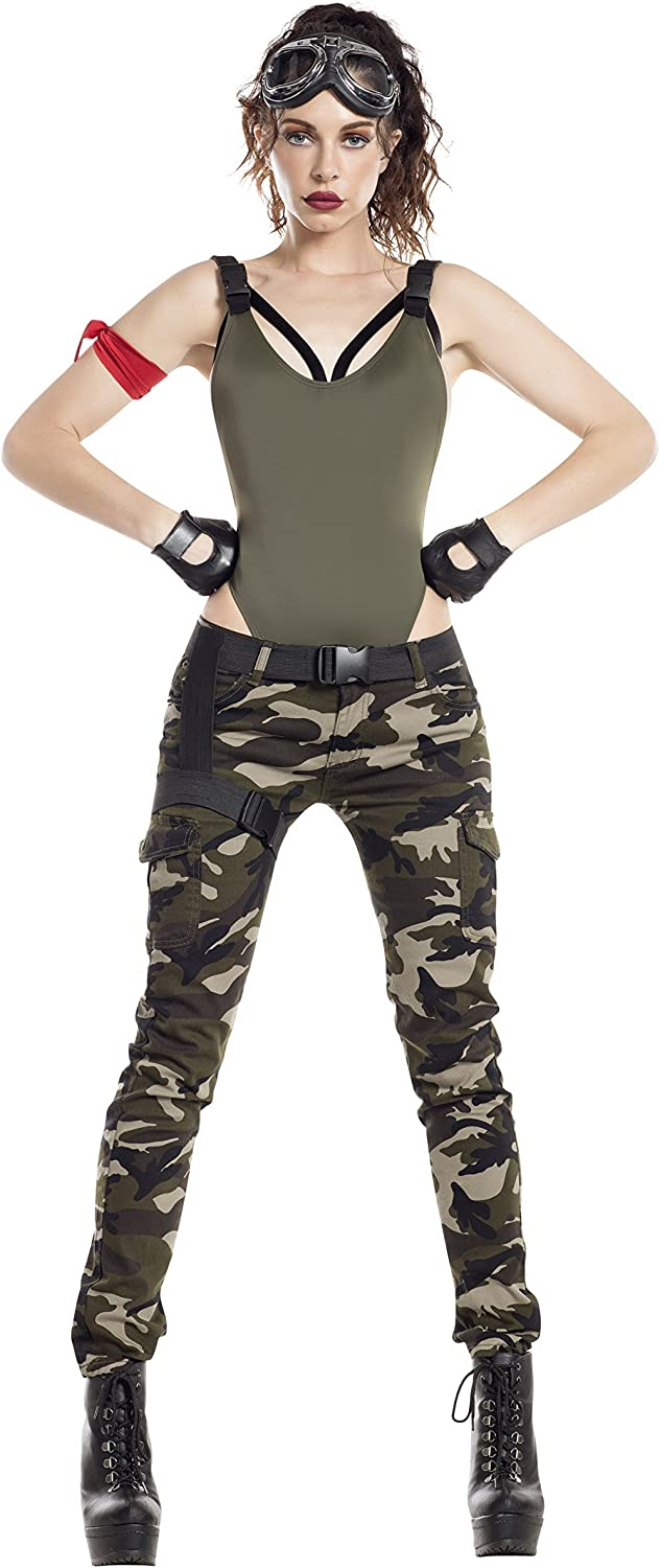 Starline womens Nitetime Max 43% Ranking TOP17 OFF Soldier Costume Gamer