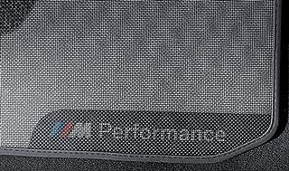 M Performance Fußmatten Satz hinten 3er F30 F31 M3 F80 4er F36