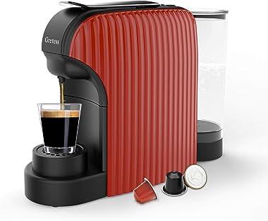 Espresso Machine, Coffee Machine Programmable Buttons for Espresso and Lungo, Compatible with Nespresso Capsules, Italian 20