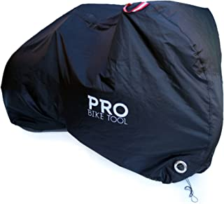 lockable bike cover