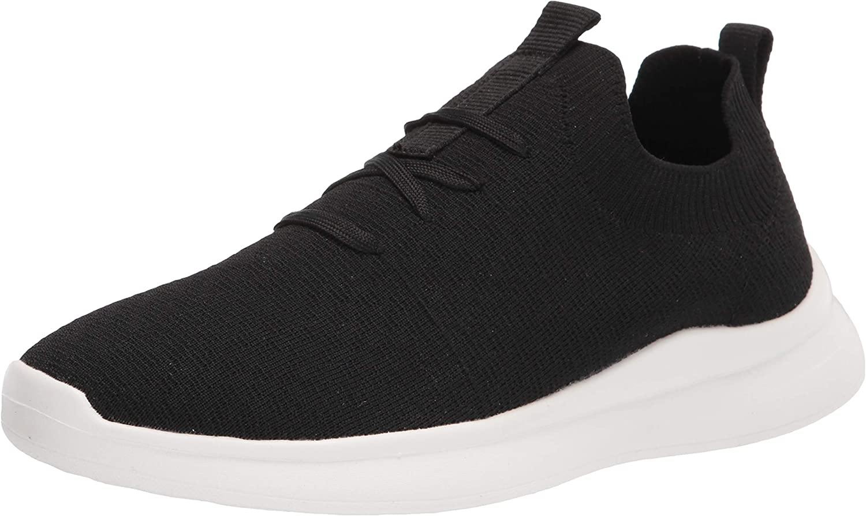 Amazon Essentials Men's Lace Up Knit Athleisure Sneaker
